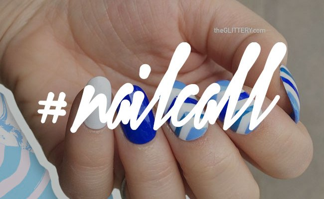 Tuesday's #NailCall: A Blue Nail Design Idea for Every Style