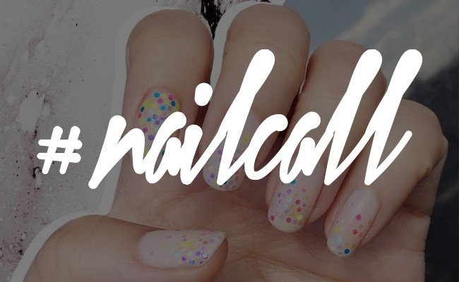 Tuesday's #NailCall: Multicolored Manicures That Scream Springtime