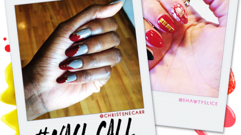 Tuesday's #NailCall: Vibrant Colors and Autumn Themes | StyleCaster