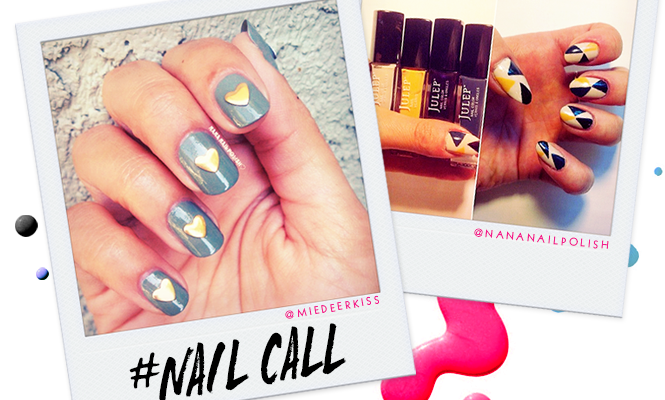Tuesday's #NailCall: Speckles and Fun Shapes