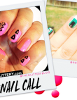 Tuesday's #NailCall: Geometric Prints and Ombre Colors