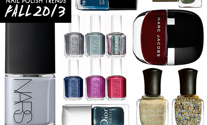 Fall's Biggest Nail Polish Trends: What to Put on Your Tips