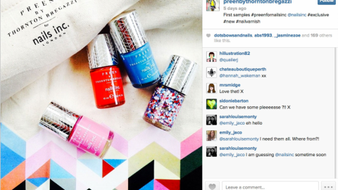 Beauty Buzz: Nails Inc. and Preen Team Up, Iconic Bob Inspiration, More | StyleCaster