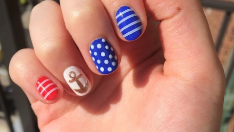 Beauty Buzz: Get Nautical Nails for Memorial Day, Reasons You May Be Breaking Out, More | StyleCaster