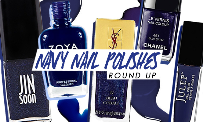 The 10 Best Navy Blue Nail Polishes