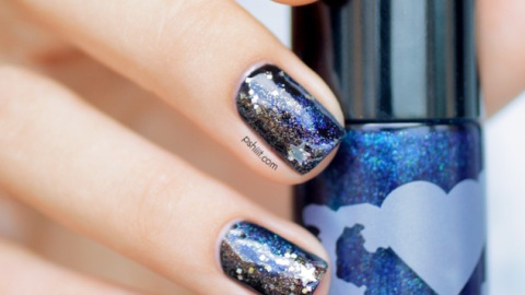 Ring In 2014 With This New Year's Eve Nail Art   StyleCaster