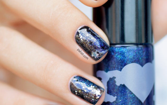 Ring In 2014 With This New Year's Eve Nail Art