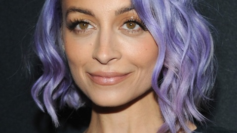Nicole Richie Is Continuing the Pastel Hair Trend, But Switches Colors   StyleCaster