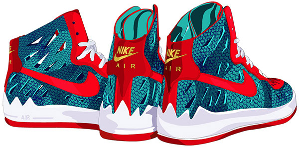Nike x Jurassic Park