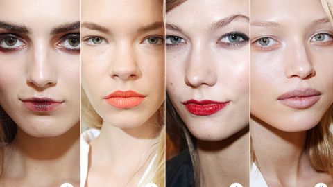 Oscar de la Renta Shows Off Four Different Makeup Looks for Fall 2013 | StyleCaster