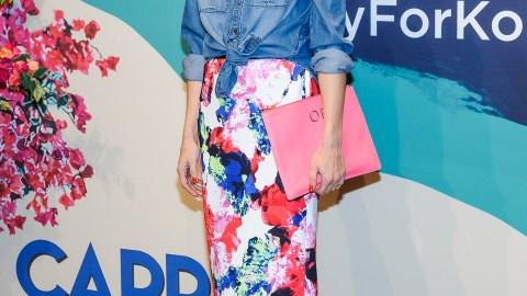 Shop Olivia Palermo's $40 Skirt   StyleCaster