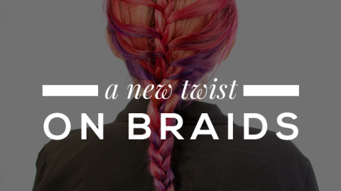 The Prettiest 3-Strand and French Braid Combo | StyleCaster