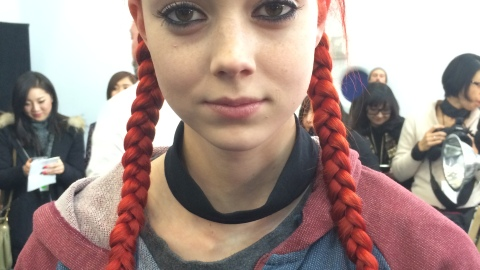 Marc by Marc Jacobs Goes For Lived-In Makeup, Slick Pigtail Braids | StyleCaster