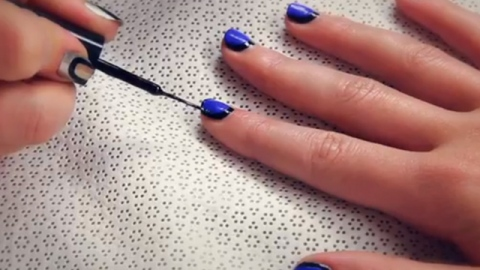 Watch: How to Get Picture Frame Nail Art | StyleCaster