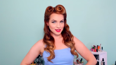 Pin-Up Hairstyles That You'll Love Doing Yourself | StyleCaster