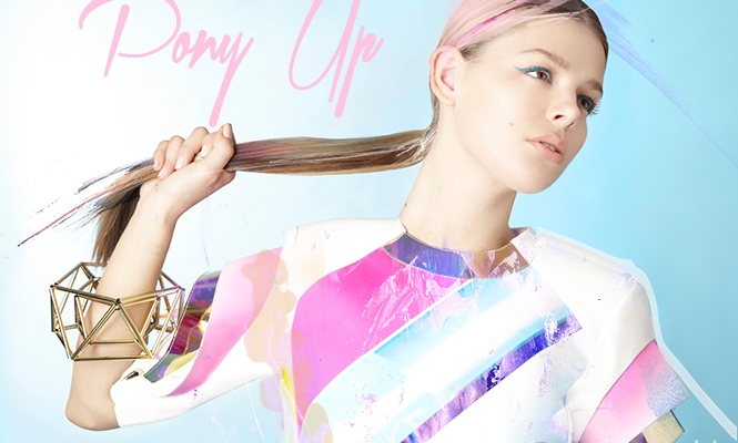 Pony Up: Get Inspired By Spring's New Take on the Ponytail