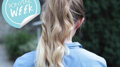 How to Get the Perfect High Ponytail | StyleCaster