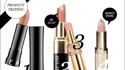 Product Testing: Top 5 Classic Nude Lipsticks | StyleCaster
