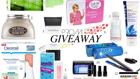 Prom Beauty Survival Kit Giveaway: Win An Entire Prom Prep Kit! | StyleCaster