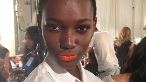 Rag & Bone Creates a Matte Orange Lip For NYFW For the Very First Time   StyleCaster