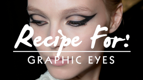 Beauty Recipe: The Graphic Eye That Will Make a Statement | StyleCaster