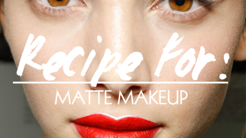 Beauty Recipe: What You Need for Beautiful Matte Makeup | StyleCaster