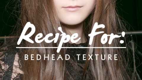 Beauty Recipe: How to Get Bedhead Hair Texture   StyleCaster