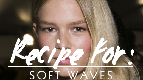 Beauty Recipe for Gorgeous, Soft Waves | StyleCaster