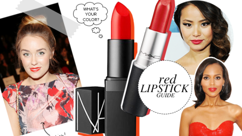 The Ultimate Guide to Finding Your Perfect Red Lipstick | StyleCaster