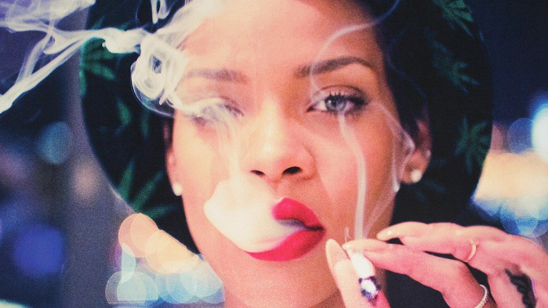 rihanna smoking wallpapers 14 e1400707997445 How April 20 Became an Unofficial Holiday For Weed Lovers