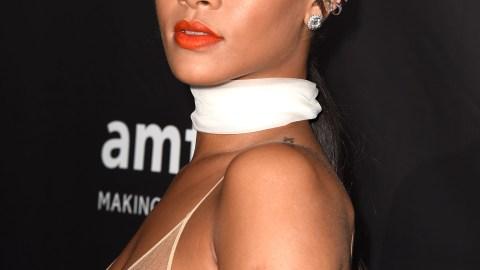 Rihanna Proves Orange Lipstick Works in Fall   StyleCaster