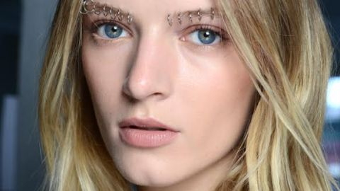 Rodarte Showed Off Bold, Pierced Brows for Spring | StyleCaster