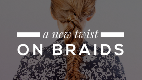 A GIF Guide to Mastering the Rope Braid | StyleCaster