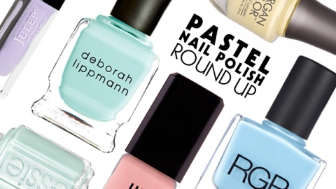 Pastel Nail Polish: The New Hues Perfect for Spring | StyleCaster