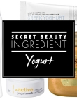 Secret Beauty Ingredient: Yogurt