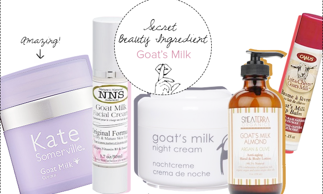 Secret Beauty Ingredient: Goat's Milk