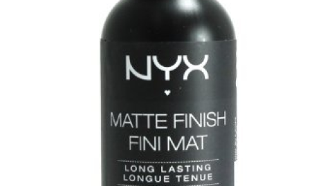 Cheap Trick: NYX Matte Finish Setting Spray   StyleCaster