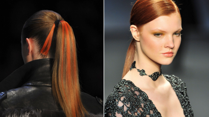 Trend Spotting at New York Fashion Week Fall 2014: Every Kind of Ponytail