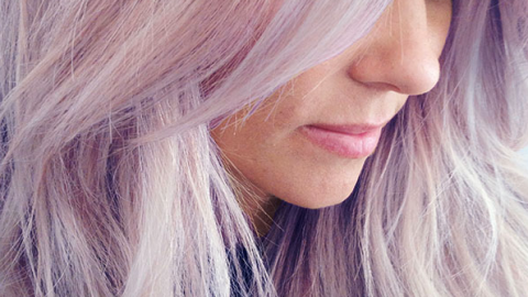 Lauren Conrad Dyed Her Hair Purple   StyleCaster