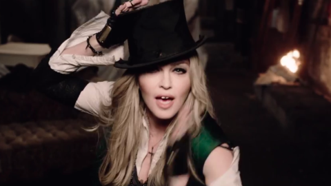 Madonna's 'Ghosttown' Video Is Here | StyleCaster