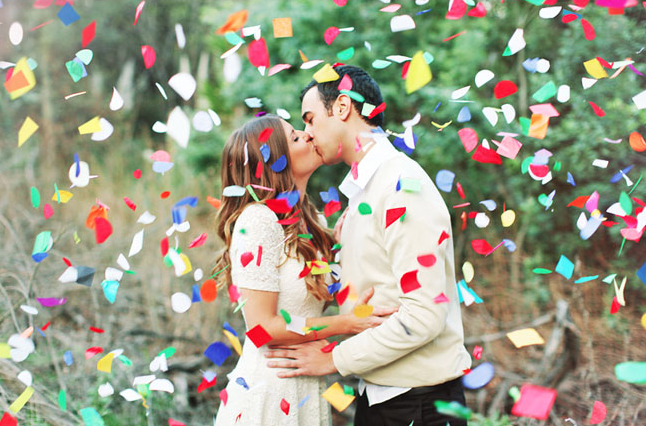 12 Engagement Photo Ideas That Are Wonderfully Extra