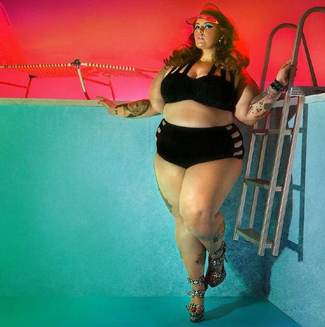 tess holliday bikini instagram photo