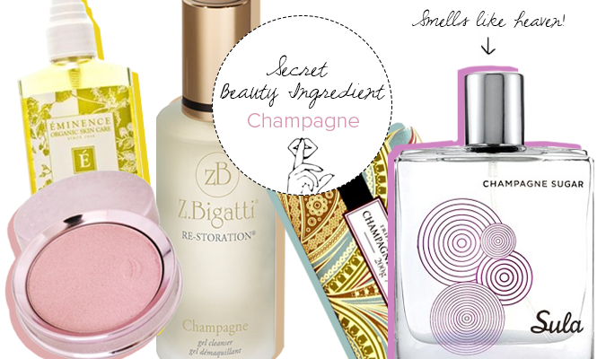 Secret Beauty Ingredient: Champagne