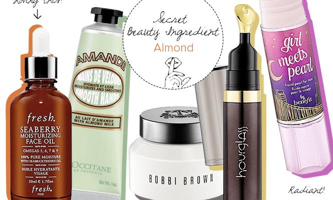 Secret Beauty Ingredient: Almonds