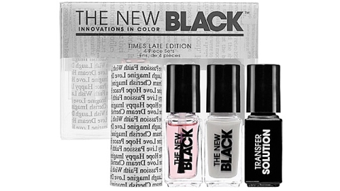 Sephora Makes Newspaper Nail Art Look Even Easier | StyleCaster