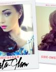 Instagram Insta-Glam: Side-Swept Hair