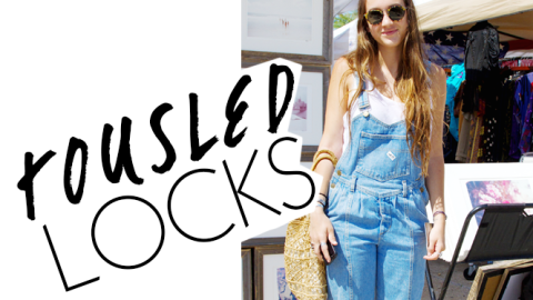 Beauty Street Style: Perfectly Tousled Locks | StyleCaster