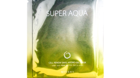 The One Thing: Super Aqua's Cell Renew Snail Hydro-Gel Mask | StyleCaster