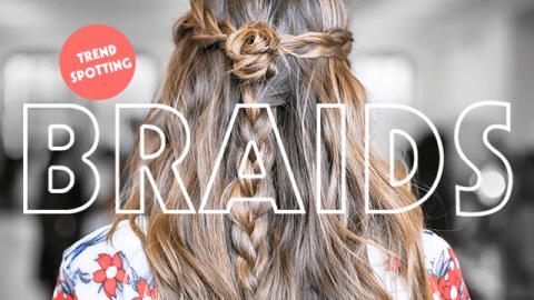 Fashion Week Trendspotting: Braids | StyleCaster