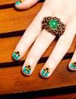 Nail Art DIY: How To Get Tribal Print Nails